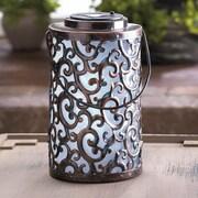 Zingz & Thingz Garden Gate Solar Decorative Lantern