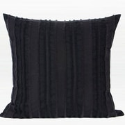 G Home Collection Luxury Stripe Textured Down Feather Insert 100pct Cotton Throw Pillow