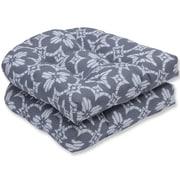 Pillow Perfect Aspidoras Wicker Rocking Chair Cushion (Set of 2)