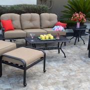K B Patio Sicily 7 Piece Deep Seating Group w/ Cushion