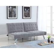 BestMasterFurniture Convertible Sofa; Gray
