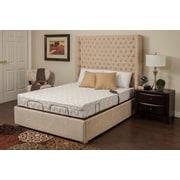 BlissfulNights Blossom 9'' Memory Foam Mattress w/ M-1000 Adjustable Base Bed; Split King