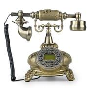 LNCHome Retro Push Button Dial Desk Telephone