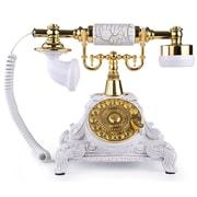 LNCHome Retro Rotary Dial Desk Telephone