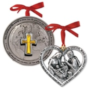 LighthouseChristianProducts 2 Piece God's Love Ornaments Set