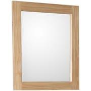 Bellaterra Home Rectangular Framed Bathroom/Vanity Wall Mirror