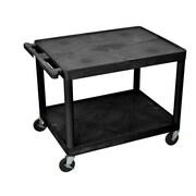 Offex 2 Shelf AV Cart