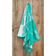St.Tropez Sands Pineapple Jacquard Weaved Beach Towel