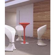 100 Essentials Trendy Bar Table; Grey