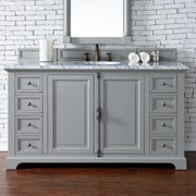 James Martin Furniture Providence 60'' Single Bathroom Vanity Base; Urban Gray