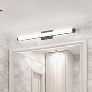 Lithonia Lighting 4-Light Bath Bar; Chrome