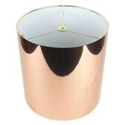 Urbanest Classic 10'' Drum Lamp Shade; Copper