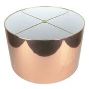 Urbanest Classic 16'' Drum Lamp Shade; Copper