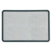 Quartet Faux Granite Wall Mounted Bulletin Board 2' H x 2' W