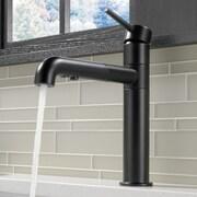 Delta Trinsic  Kitchen Single Handle Pull Out Standard Kitchen Faucet; Matte Black