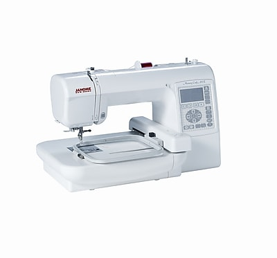 Janome computerized memory craft embroidery machine for Janome memory craft 200e embroidery machine reviews