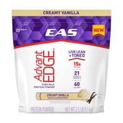 EAS AdvantEDGE Pure Milk Protein Powder Creamy Vanilla, 2.5 lb