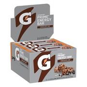 Gatorade Prime Energy Bar Chocolate Chip, 2.1 oz, 12 Count