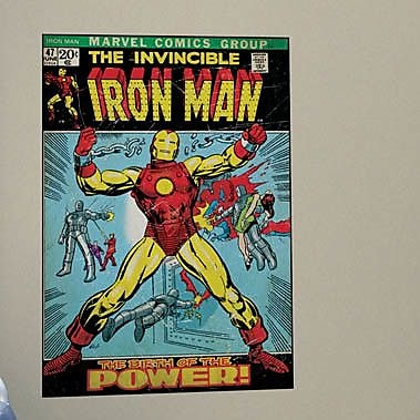 Wallhogs Marvel Comics Iron Man Comic Cover Wall Mural WYF078278160722