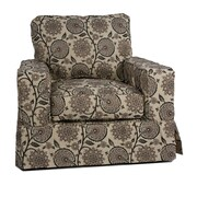 August Grove Columbus Slipcovered Chair