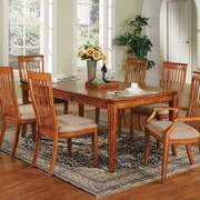 Alcott Hill Chester Dining Table; Cinnamon