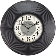 Infinity Instruments 31.5'' Wall Clock, Old Town Standard (15156BK-4107)