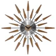 Infinity Instruments 23'' Wall Clock, Satellite (15196WL-4127)