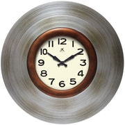 Infinity Instruments 22'' Wall Clock, Mid-Century (15194AS-4124)