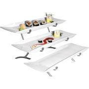 Cal-Mil 3 Tier Variable Platter; Platinum