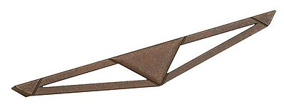Richelieu Art Deco Appliance Pull; Spotted Bronze WYF078278020788
