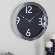 Cole & Grey Stainless Steel Round 18'' Wall Clock