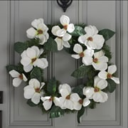 National Tree Co. Spring 24'' North Valley Spruce Magnolia Wreath
