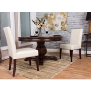 Starfish Side Chair (Set of 2); Faux Leather - Ivory