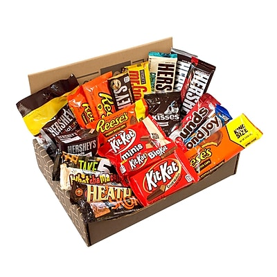 HERSHEY'S Happy Chocolate Candy Snack Variety Box, Care Package , 20/Count (700-00010) 2437086