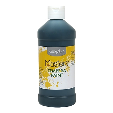 Little Masters® 16 oz. Tempera Paint, Black