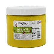 Handy Art Non-toxic 16 oz. Washable Finger Paint, Yellow (RPC241010)