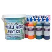 Handy Art Non-toxic Fabric Paint Sparkle Kit (RPC885050)