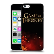 Official Hbo Game Of Thrones Key Art Logo Hard Back Case For Apple Iphone 5C