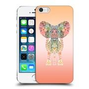 Official Monika Strigel Gypsy Elephant Orange Hard Back Case For Apple Iphone 5 / 5S / Se