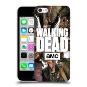 Official Amc The Walking Dead Logo Group Hard Back Case For Apple Iphone 5C