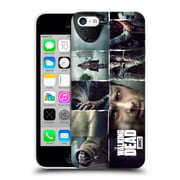 Official Amc The Walking Dead Logo Key Art Horizontal Hard Back Case For Apple Iphone 5C