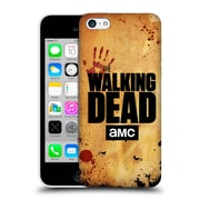 Official Amc The Walking Dead Logo Stacked Hard Back Case For Apple Iphone 5C