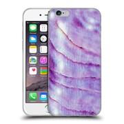 Official Monika Strigel Pastel Seashell Purple Soft Gel Case For Apple Iphone 6 / 6S