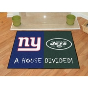 FANMATS NFL House Divided - Giants / Jets House Divided Mat