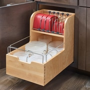 Rev-A-Shelf Food Storage Pull Out Drawer; 18''