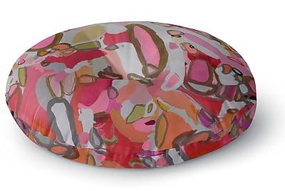 Kavka Pretty Pink Pills Floor Pillow; 26'' H x 26'' W WYF078280058179