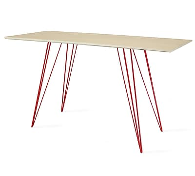 Tronk Design Williams Writing Desk; Red