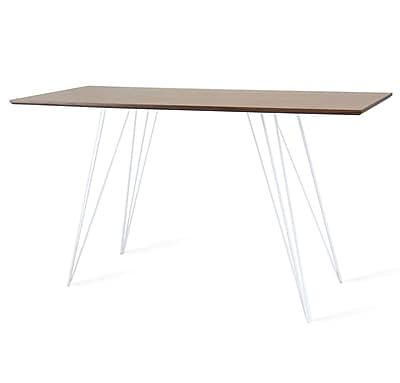 Tronk Design Williams Writing Desk; White