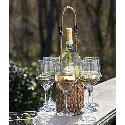 Bay Isle Home Alton Seagrass Wine Tote,