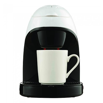 Brentwood Single Cup Coffee Maker; White WYF078280256154